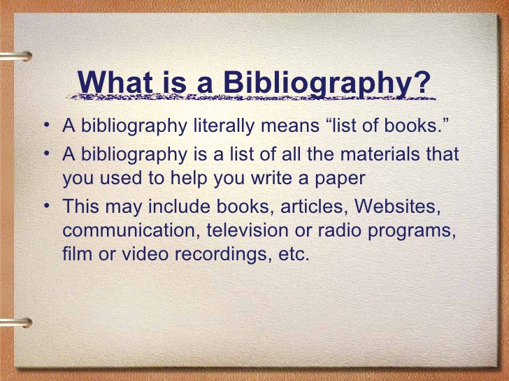 How to write good bibliography