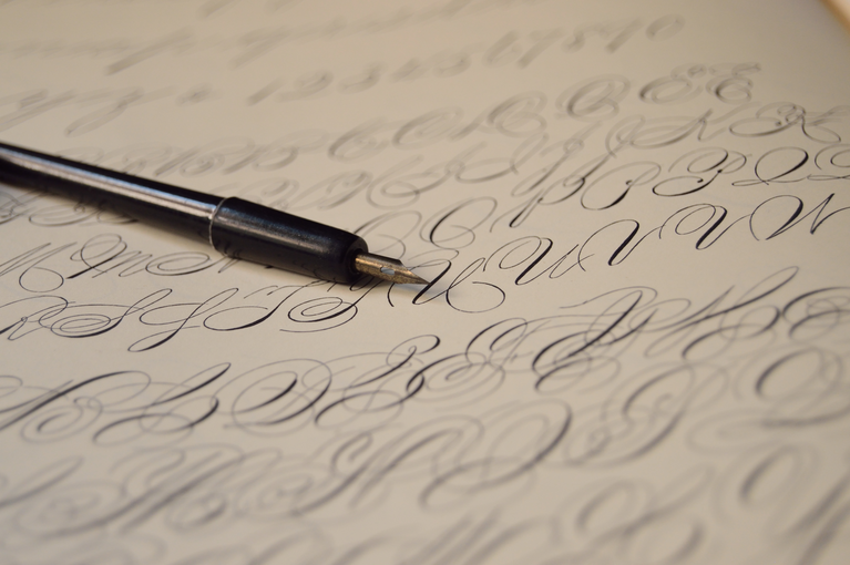 Is calligraphy writing possible?